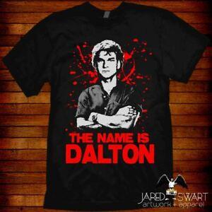 Road House T-shirt Dalton based on the 1989 80s movie starring Patrick Swayze