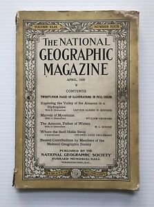 National-Geographic-Magazine-April-1926-The-Amazon-Father-Of-Waters