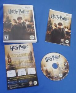 Harry Potter And The Deathly Hallows Part 2 Nintendo Wii Complete With Manual
