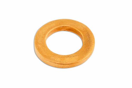 Cuivre Joint M6 X 10 x 1.0mm Paquet 100 31826 par Connect Neuf