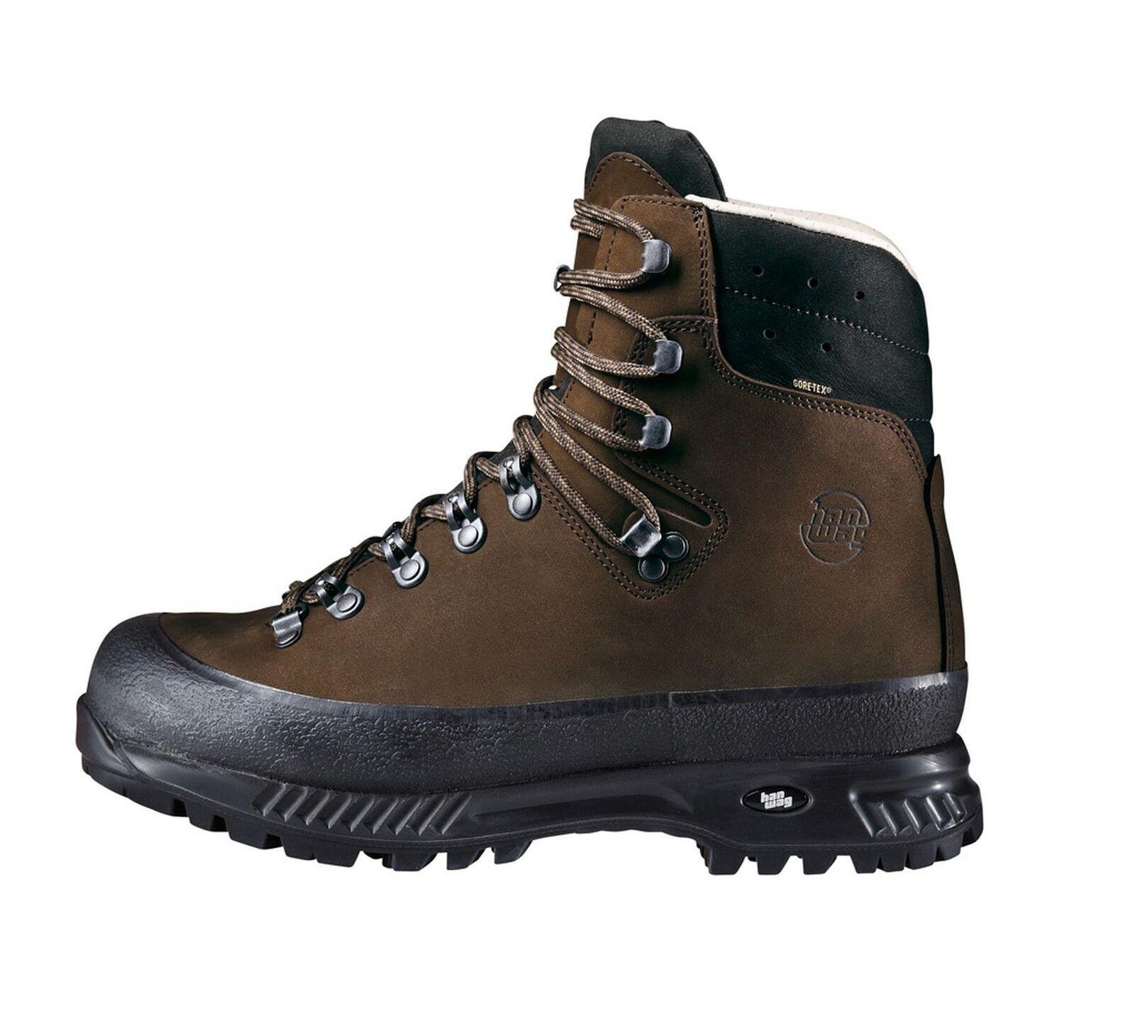 Hanwag Mountain shoes  Alaska Wide GTX Men Size 10,5 - 45 Earth