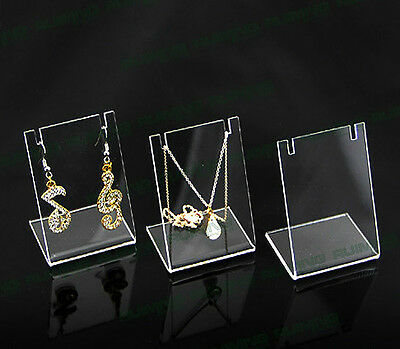 Earrings Necklace Pendant Display Stand Rack Accessories Jewellry Holder New SP