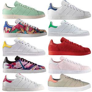 brand new 667a2 9951c adidas Originals Stan Smith Damen-Sneaker Turnschuhe Freizeitschuhe  Halbschuhe