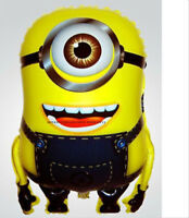 2 Despicable Me Minions Mylar Balloon Birthday Christmas Decoration Toy