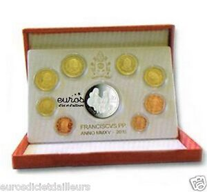 Coffret-BE-VATICAN-2015-Serie-1-cent-a-2-euros-BE-20-euros-Argent-Neuf