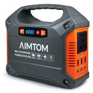 42000mAh Portable Generator Emergency Backup Power Station Power Pack Power Bank