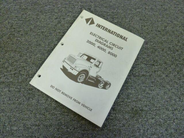 1993 International 8100 8200 8300 8000 Truck Electrical
