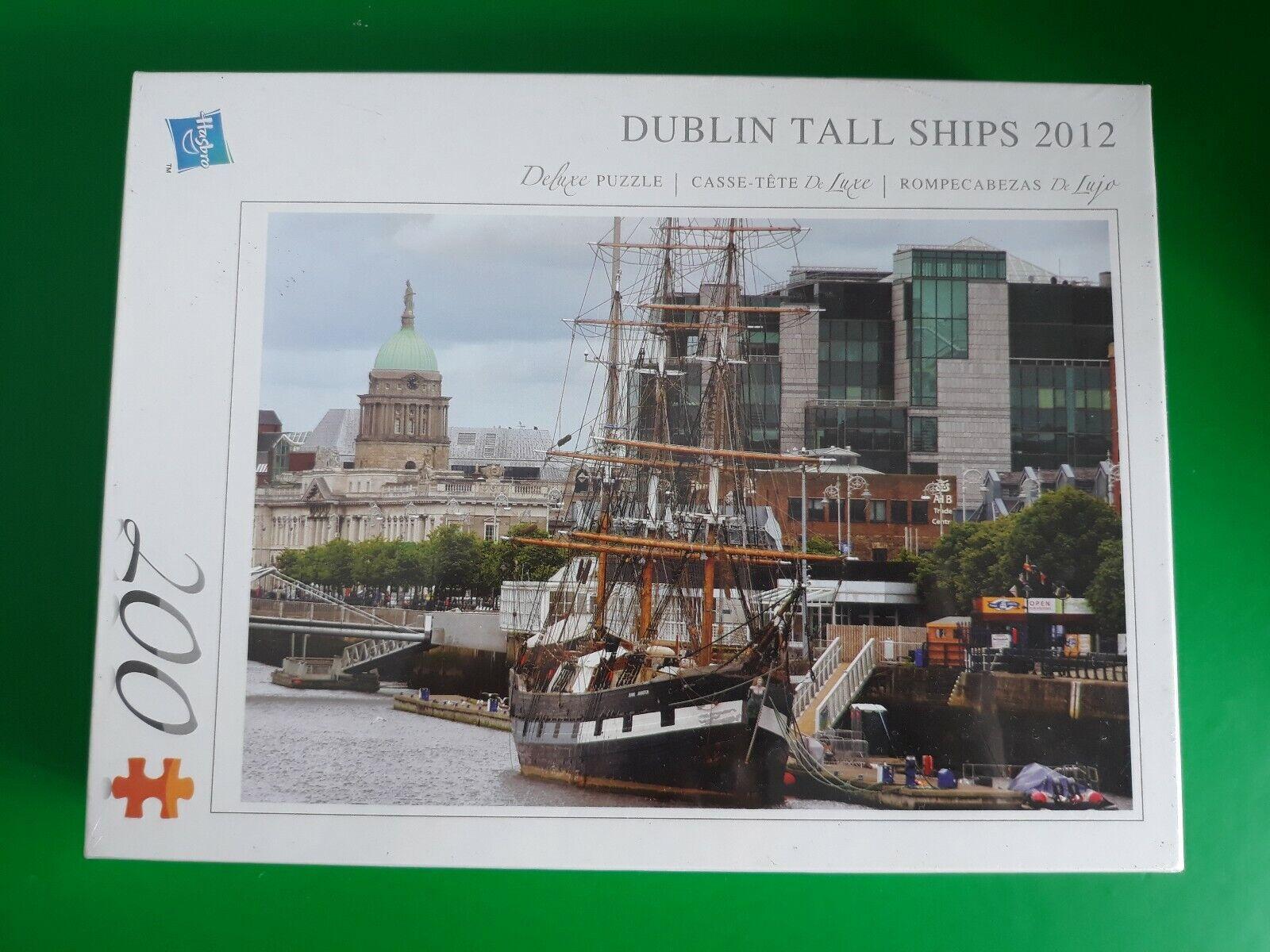 DUBLIN Ttutti SHIPS 2012 - 200 piece Jigsaw Deluxe  Puzzle - Hasbro nuovo - RARE  bellissima