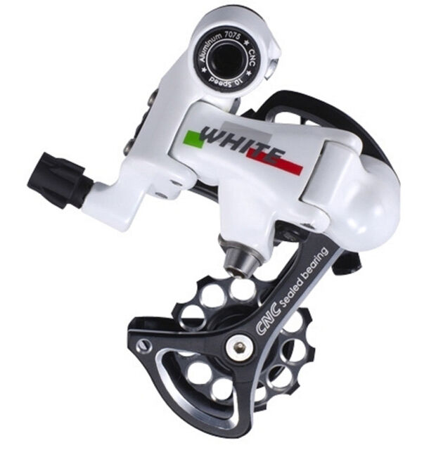MICROSHIFT RD-R66-W WHITE 10S REAR MECHANISM - Road Bike Rear Derailleur cycling