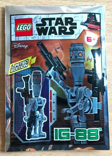 Bag lego minifigure polybag star wars spaceship polybag ig 88 ig-88 droid
