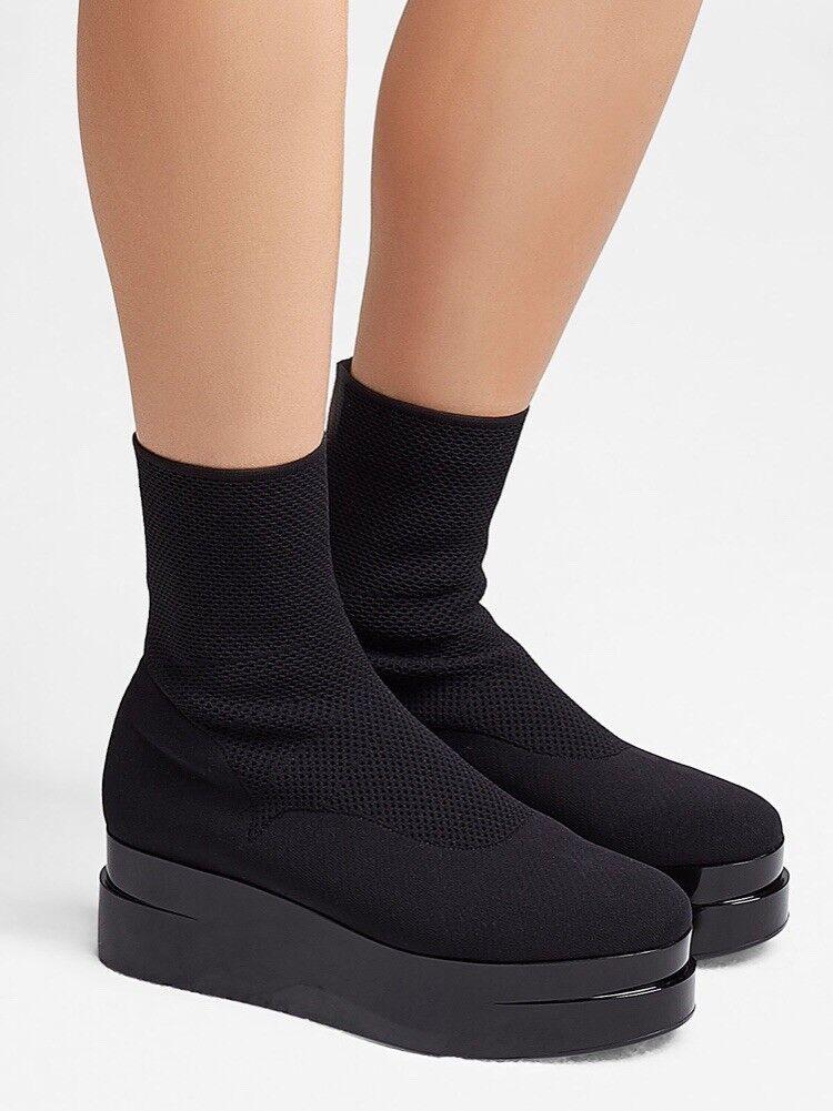 Robert Clergerie Stretch botas Zapatos Tenis Luise Calcetines Botín Cuña Cuña Cuña Tacón Alto  en linea