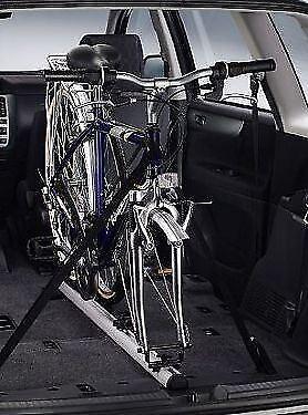 Fahrradständer Radgabel Träger Fahrradträger Heckträger LKW Auto Rack schwarz 1x