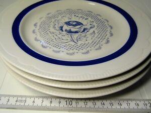 Lot-of-3-Old-Vintage-034-Soviet-Union-034-USSR-CCCP-Russian-plates-ceramic-rare-129sr