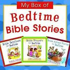 My Box of Bedtime Bible Stories: Bible Animal Stories for Bedtime/Bible Prayers for Bedtime/Bible Devotions for Bedtime by Jane Landreth, Daniel Partner (Multiple copy pack)