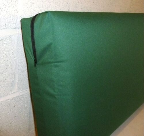 ZIPPY 4/'/' THICK WATERPROOF FABRIC 3 SEATER BENCH SEAT CUSHION GARDEN FURNITURE