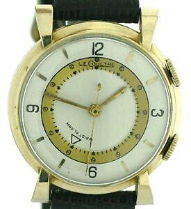 Jaeger-LeCoultre-Memovox-Wrist-Alarm-Herren-Vintageuhr-um-1950-65-Kal-489