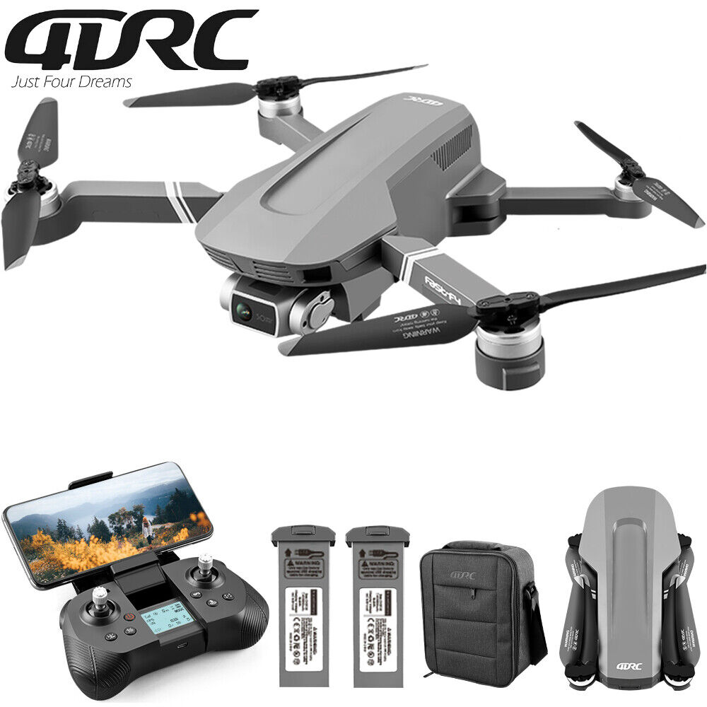 4DRC F4 Drone 4K Profesional GPS WiFi FPV 5G Drone HD 2-Axis Gimbal Brushless