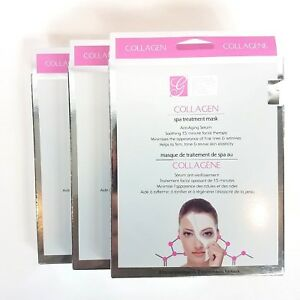 Global-Beauty-Care-Collagen-Spa-Treatment-Mask-3-Pack-6-Facial-Treatments-Total