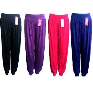 Womens Harem Jersey Trouser