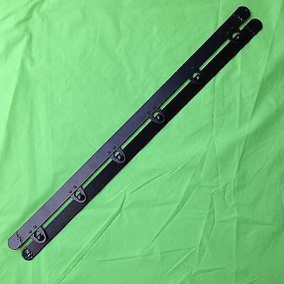 "10 set Corset busk steel boning Black 12"", 6 button for Corsets Bustiers wedding"