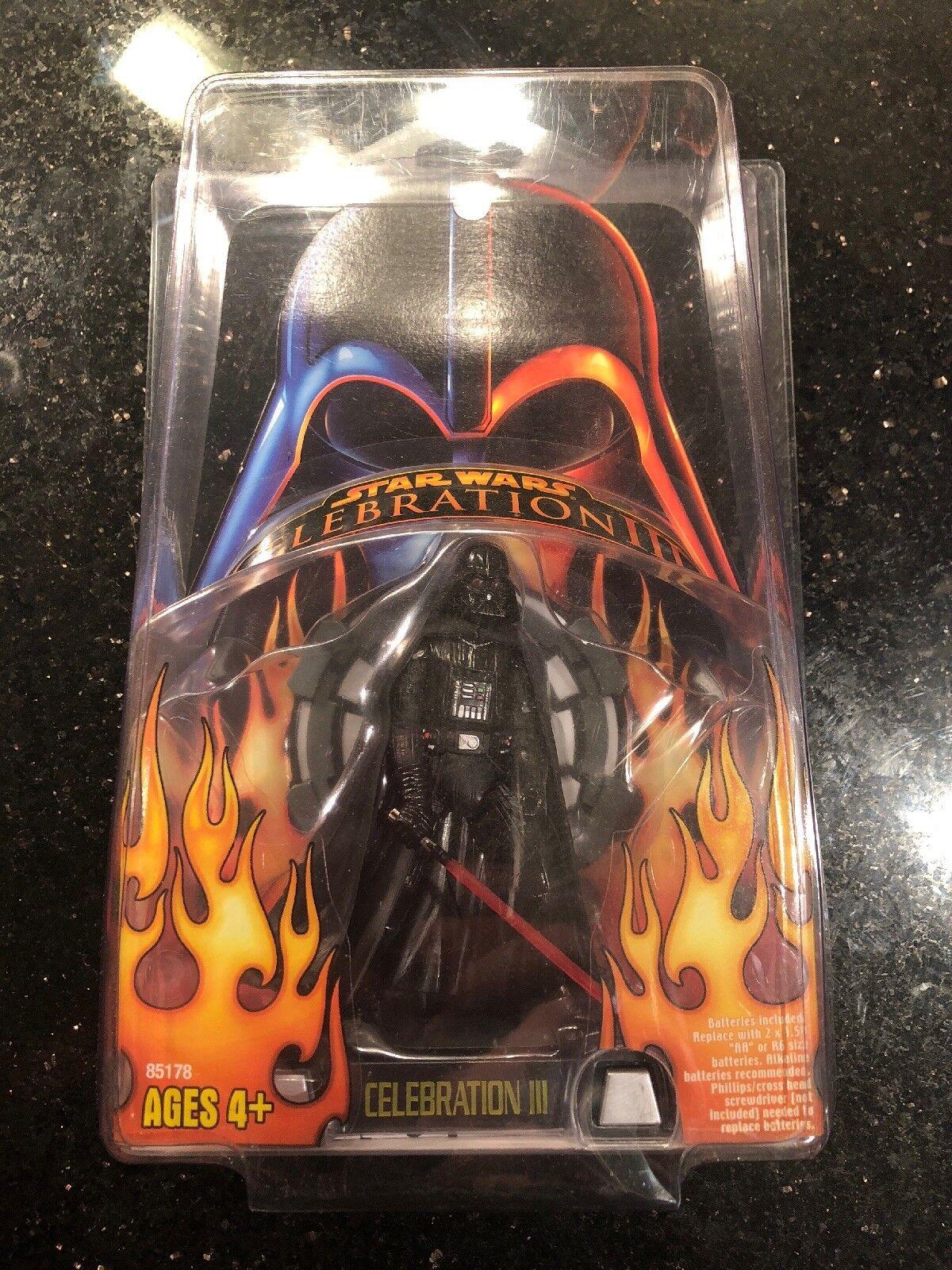 NEW Star Wars 2005 Celebration III Darth Vader Action Figure w  Hard Case