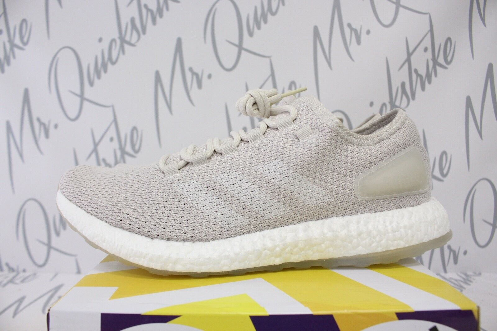 12405c3d7 ADIDAS PUREBOOST CLIMA SZ 13 CHALK PEARL TINT BY8895 WHITE ULTRABOOST  nauabi11-Athletic Shoes