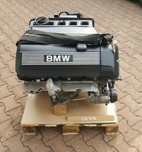 Bmw E46 Motor Zylinderkopf 170 Ps M52 Engine 325 Ci 125 Kw Ca 97000 Km Ebay