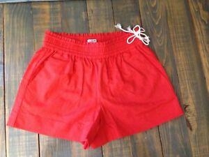 NWT-J-Crew-Women-039-s-3-1-2-inch-Pull-On-Linen-Cotton-Shorts-Size-XXS