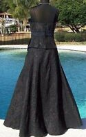 Cache Luxe Sequin Kissed Event Cruse Skirt Size 6/8/10 M/l Lined $258