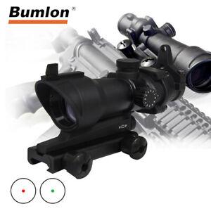 Tactical-ACOG-1X32-Red-Dot-Sight-Scope-Optics-Rifle-Scopes-Hunting-Scope-w-Mount