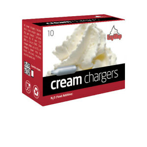 Ezywhip Cream Chargers N2O - Pack of 10