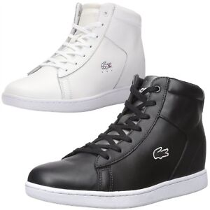 c4dfa8c32 Image is loading NEW-Lacoste-Women-Athletic-Carnaby-Evo-Wedge-317-