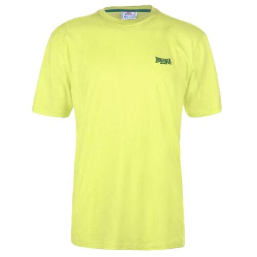 Lonsdale Herren Plain Shirt T-Shirt S M L XL 2XL 3XL 4XL XXL XXXL XXXXL neu