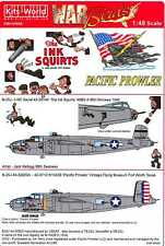 Kits World Decals 1 48 B 25 J Mitchell Bomber Pacific Prowler The Ink Squirts