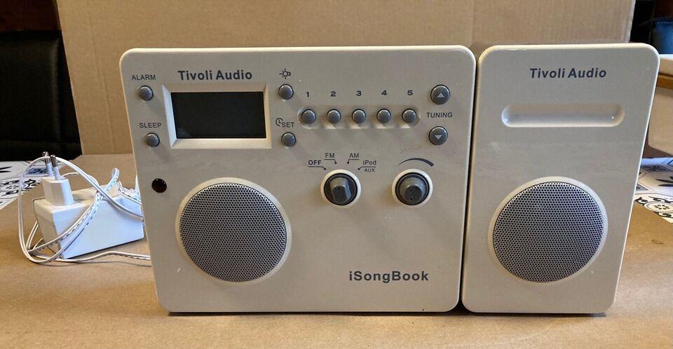AM/FM radio, Tivoli, I Song Book
