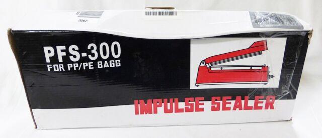 Impulse sealer PFS-300 PP/PE bags sealer extra heating element teflon sheet