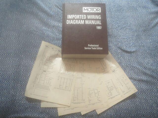 1997 VOLVO 850 WIRING DIAGRAM SCHEMATICS | eBay
