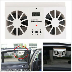 Ivory White Solar Energy Autos Off Road Window Air Vent