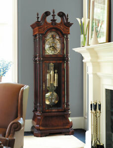 Details about Howard Miller The J H  Miller 611-030 Limited Edition  Grandfather Clock - 611030