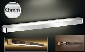 Wandlampe Chrom Spiegellampe 70 cm lang Badezimmer Lampe ...