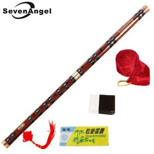 High Quality Bamboo Flute Woodwind Instrument C D E F G Key Chinese Flute