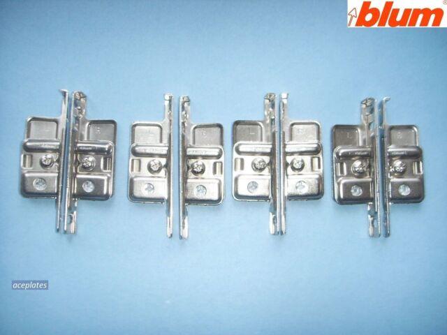 Blum ZSF.170-02.01 Drawer Front Fixing Brackets Pair Metabox ZSF 1700