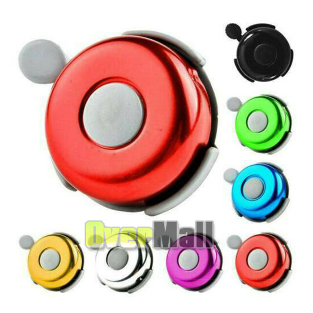 Bike Bell Safety Cycling Bicycle Motor Bell Black Handlebar Aluminum Alarm Ring