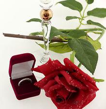Ring Memoire Weiss Gold 585 brilliant-cut diamonds Brillanten 1,00 Karat ct 54