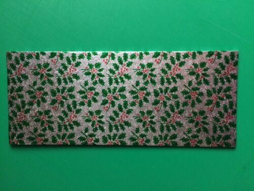 Noël bois bûche gâteau Board Card 12 x 5 in 1 unique livraison rapide environ 12.70 cm