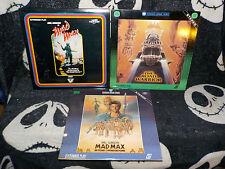 Mad Max Trilogy Laserdisc LD Road Warrior Thunderdome Mel Gibson Free Ship $30