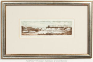 Brian-LALOR-Print-Etching-ROYAL-HOSPITAL-KILMAINHAM-Artist-039-s-Proof-Irish-Art