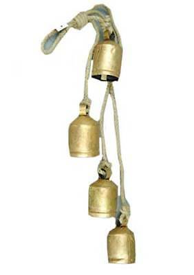 Decorative 9 Harmony Bells Garden Rustic Relaxing Tranquil Wind Chimes Ornaments