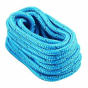5-8-Inch-25-FT-Reflective-Double-Braid-Nylon-Yacht-Dock-Line-Mooring-Rope-Blue
