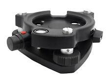 Adirpro Laser Black Tribrach For Total Station Gps Topcon Sokkia Trimble Leica